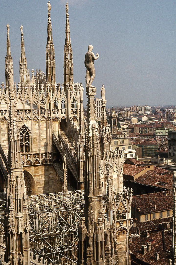 Dom van Milaan; Milan Cathedral, Lombardy, Italy