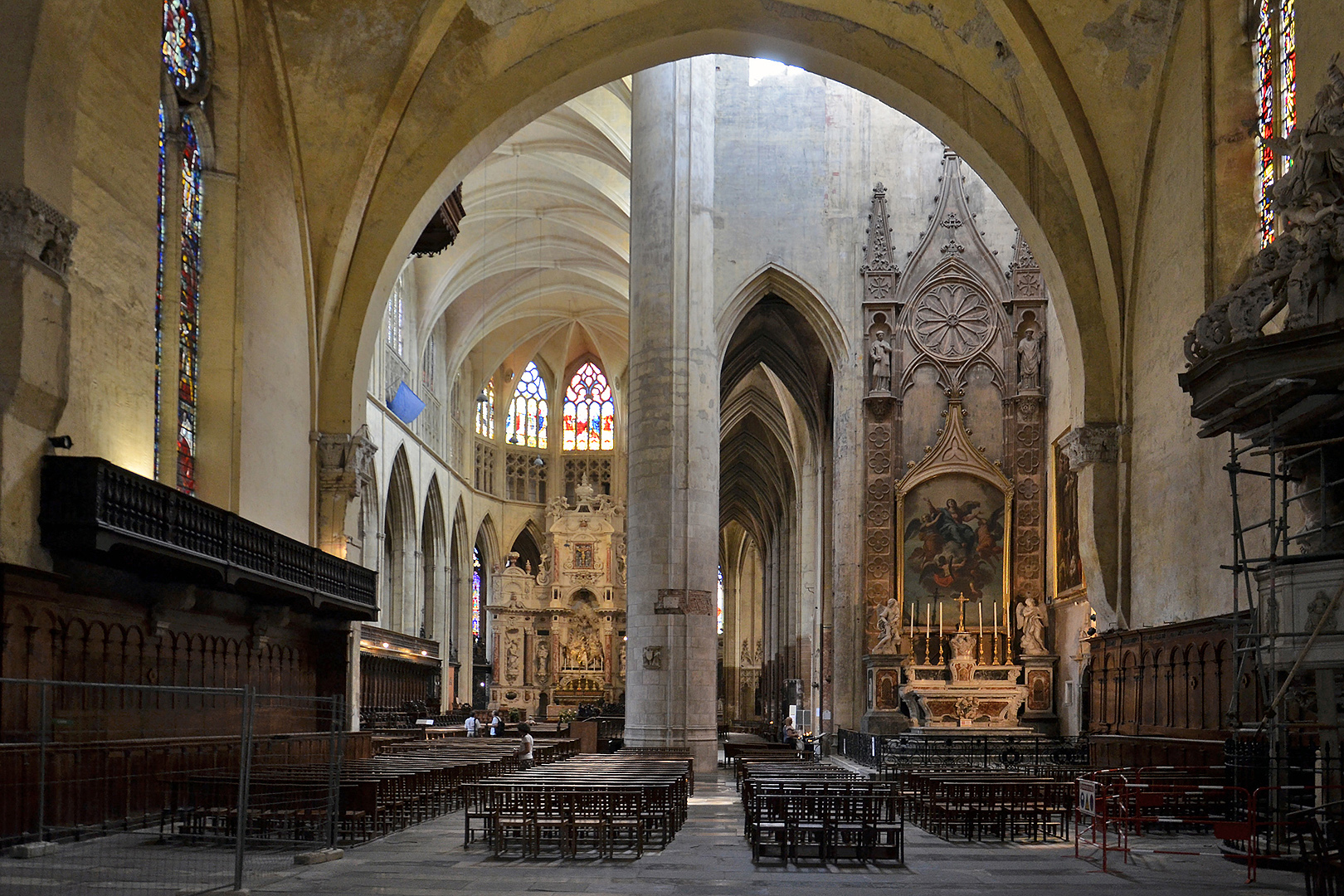 Kathedraal Toulouse (Occitanie, Frankrijk); Toulouse Cathedral (Occitanie, France)