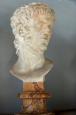 Portret van Nero (Rome); Portrait of Nero