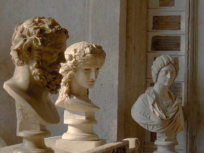 Romeinse bustes (Rome); Roman busts