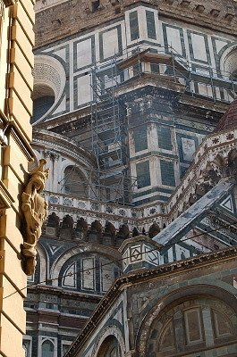 Koepel van de dom (Florence, Italië); Dome of the Cathedral (Florence, Italy)