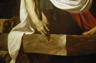 Caravaggio, Kruisafname, Rome; Caravaggio, Deposition from the cross, Rome