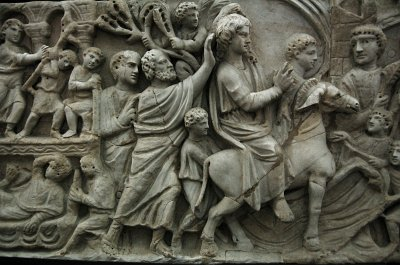 Sarcophagus of the Miracle of Bethseda, Rome; Sarcophagus of the Miracle of Bethseda, Rome