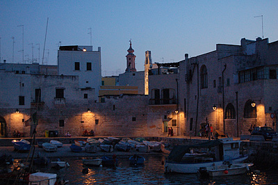 Haven van Monopoli (Apulië, Italië); Old harbour of Monopoli (Puglia, Italy)