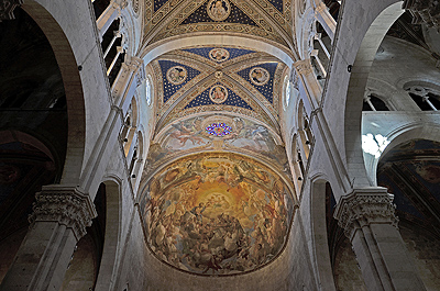 Kathedraal van Lucca, Toscane, Italië; Lucca Cathedral, Lucca, Tuscany, Italy