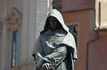 Monument voor Giordano Bruno (Rome); Monument to Giordano Bruno