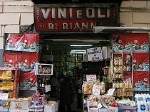 Winkeltje in Napels (Campanië); Shop in Naples (Campania, Italy)