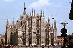 Dom van Milaan, Lombardije, Italië; Milan Cathedral, Lombardy, Italy