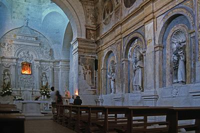 Santuario S.M. della Palomba, Matera, Italië; Santuario Santa Maria della Palomba, Matera, Italy