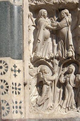 Visitatie en Annunciatie; Visitation and Annunciation