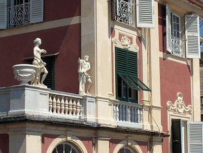 Koninklijk Paleis (Palazzo Reale) Genua.; Royal Palace (Palazzo Reale) Genoa