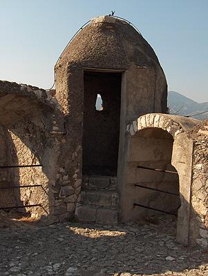 Castello Caetani, Sermoneta (Lazio, Italië); Castello Caetani, Sermoneta (Lazio, Italy)