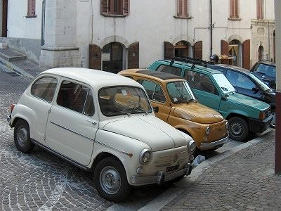 Fiat 600, Fiat 500 en Fiat Panda; Fiat 600, Fiat 500 and Fiat Panda