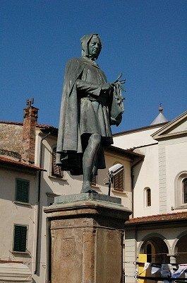 Monument voor Giotto (Vicchio, Toscane, Italië); Monument for Giotto (Vicchio, Tuscany, Italy)