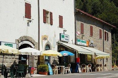 Passo del Muraglione, 907m (Toscane, Italië); Passo del Muraglione, 907m (Tuscany, Italy)