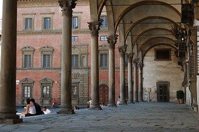Piazza della S.S. Annunziata (Florence, Italië); Piazza della S.S. Annunziata (Florence, Italy)