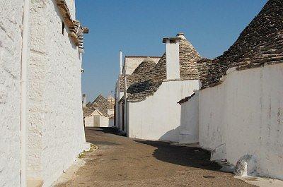 Trulli in Alberobello (Apulië, Italië); Trulli in Alberobello (Apulia, Italy)