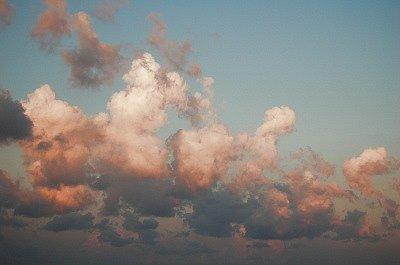 Wolken (Apulië, Italië); Clouds (Apulia, Italy)