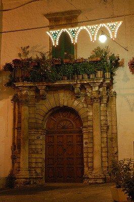 Toegangspoort (Martina Franca, Italië); Entrance arch (Martina Franca, Italy)
