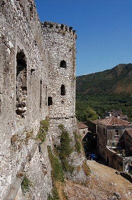 Kasteel van Vairano Patenora (Campanië, Italië); Castle of Vairano Patenora (Campania, Italy)