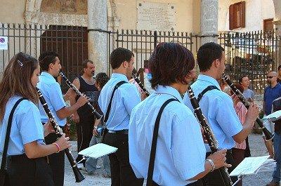 Orkest in Tagliacozzo (Abruzzen, Italië); Orchestra in Tagliacozzo (Abruzzo, Italy)