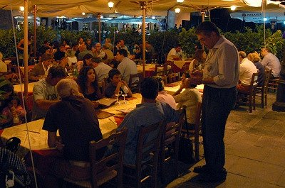 Diner (Abruzzen, Italië); Supper (Abruzzo, Italy)