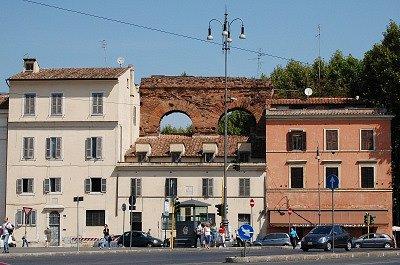 Romeins aquaduct (Rome, Italië); Roman Aqueduct (Rome, Italy)