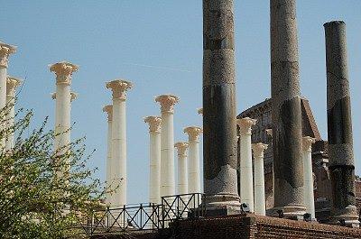 Tempel van Venus en Roma (Rome, Italië); Temple of Venus and Roma (Rome, Italy)