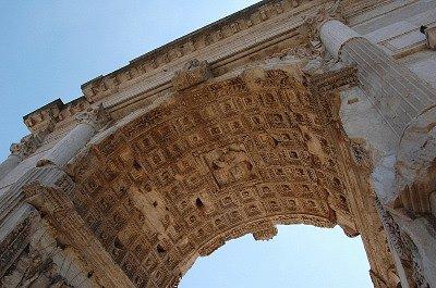 Boog van Titus (Rome, Italië); Arch of Titus (Rome, Italy)