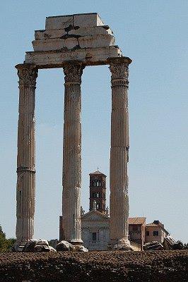 Tempel van Castor en Pollux (Rome, Italië); Temple of Castor and Pollux (Rome, Italy)