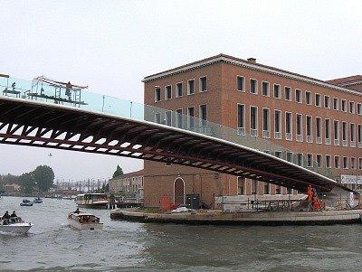 Calatrava-brug (Venetië, Italië); Calatrava-bridge (Venice, Italy)