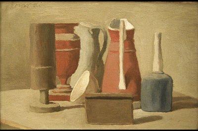 Giorgio Morandi, Vaticaanse Musea, Rome, Italië; Giorgio Morandi, Vatican Museums, Rome, Italy