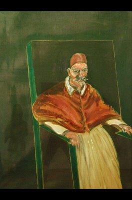 Paus Innocentius X, Francis Bacon, 1953, Rome; Pope Innocence X: Francis Bacon 1953, Rome