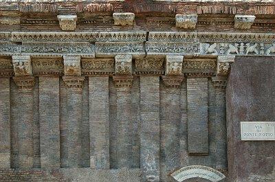 Casa dei Crescenzi, Rome, Italië; Casa dei Crescenzi, Rome, Italy