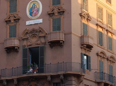 Via delle Fornaci, Rome, Italië; Via delle Fornaci, Rome, Italy