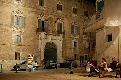 Palazzo Palmieri, Monopoli (Apulië, Italië); Palmieri Palace, Monopoli (Puglia, Italy)