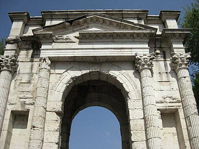Arco dei Gavi, Verona, Veneto, Italië; Arco dei Gavi, Verona, Italy
