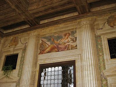 Ceres, Villa Emo, Fanzolo (Vedelago), Italië; Villa Emo, Veneto, Italy