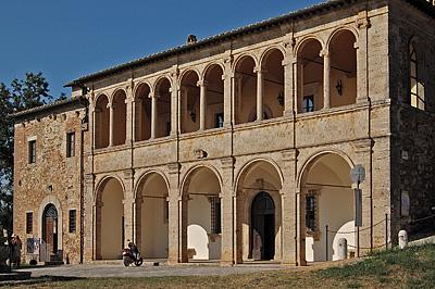 Canonica di San Biagio, Montepulciano (Toscane); Montepulciano (SI, Tuscany, Italy)