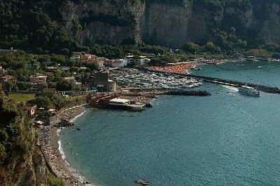 Haven van Vico Equense (Campanië, Italië); Vico Equense Harbour (Campania, Italy)