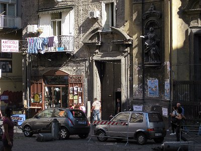 Piazza dei Gerolomini, Napels (Campanië); Piazza dei Gerolomini, Naples (Campania, Italy)