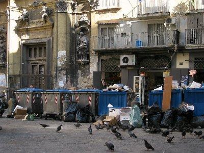 Afval, Napels (Campanië); Waste, Naples (Campania, Italy)