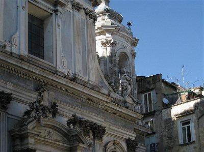 Chiesa dei Girolamini, Napels (Campanië); Girolamini, Naples (Campania, Italy)