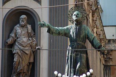 Piazza San Gaetano, Napels (Campanië); Piazza San Gaetano, Naples (Campania, Italy)