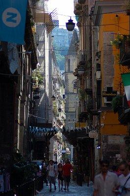 Via dei Tribunali, Napels (Campanië); Via dei Tribunali, Naples (Campania, Italy)