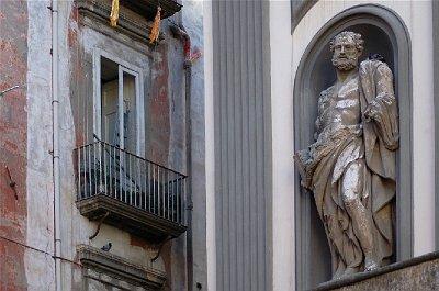 San Paolo maggiore, Napels (Campanië); San Paolo maggiore, Naples (Campania, Italy)