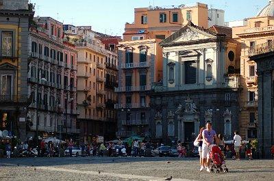 Piazza Plebiscito, Napels (Campanië); Piazza Plebiscito, Naples (Campania, Italy)