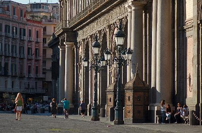 Koninklijk Paleis, Napels (Campanië); Royal Palace, Naples (Campania, Italy)