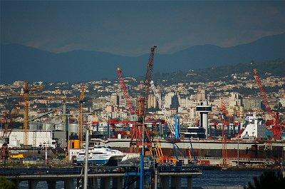 Haven, Napels (Campanië); Harbour, Naples (Campania, Italy)