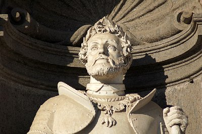Karel V van het Heilige Roomse Rijk; Royal Palace, Naples (Campania, Italy)